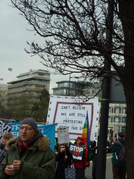 Anti Trident Rally London 2015