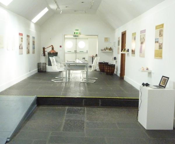 August 2013. The Lavender Project. Exhibition Installation view.