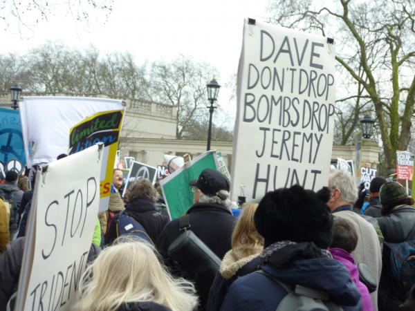 Anti Trident Rally London 2016